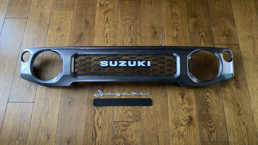 Modifying the Suzuki Classic Grille