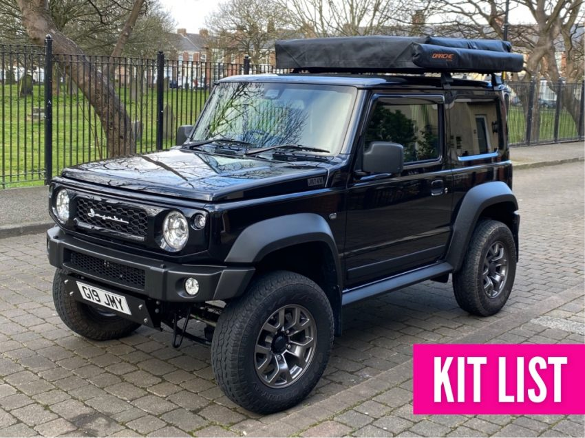 Geordie Jimny Kit List