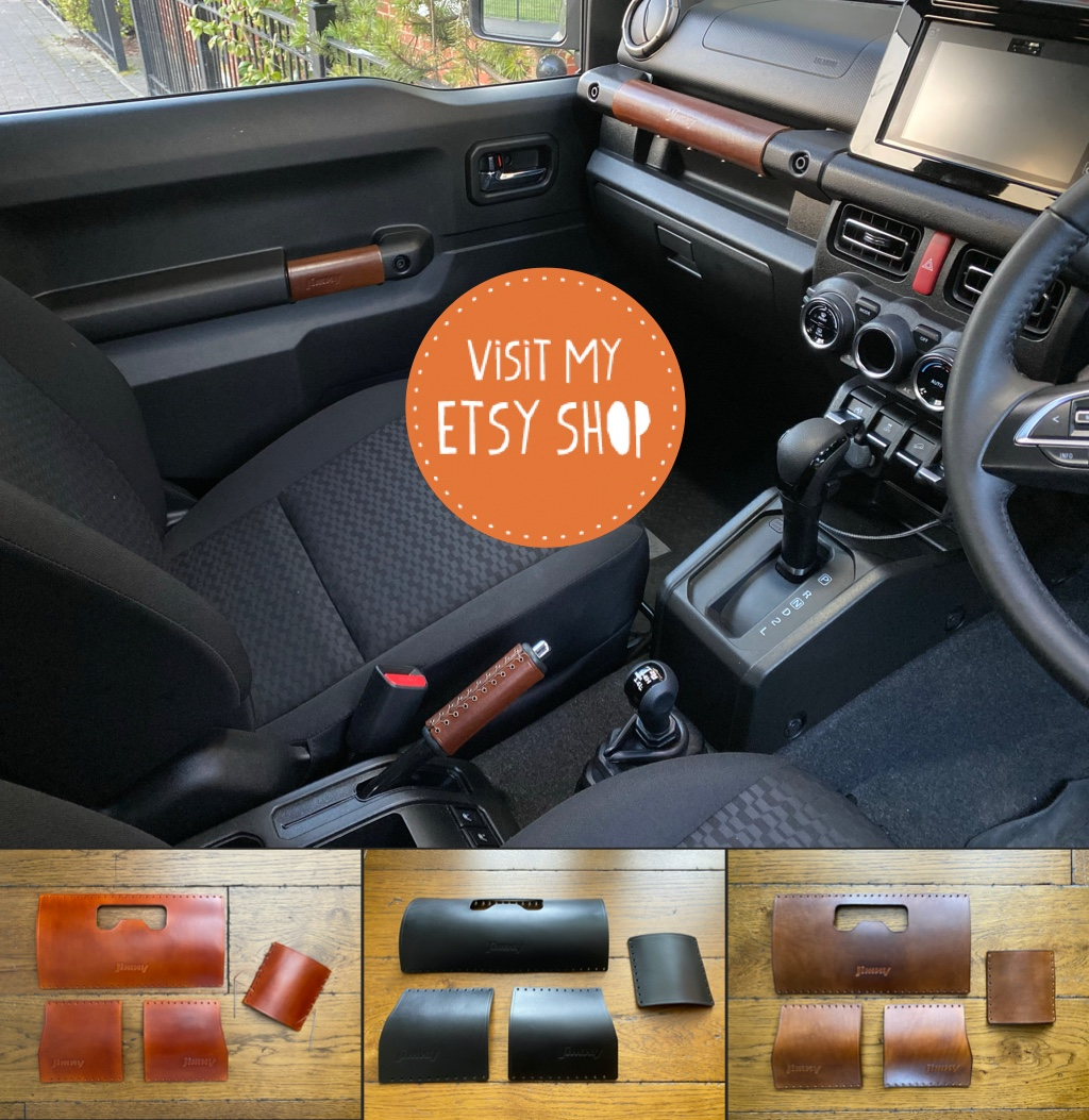 Jimny Handmade Leather Handles
