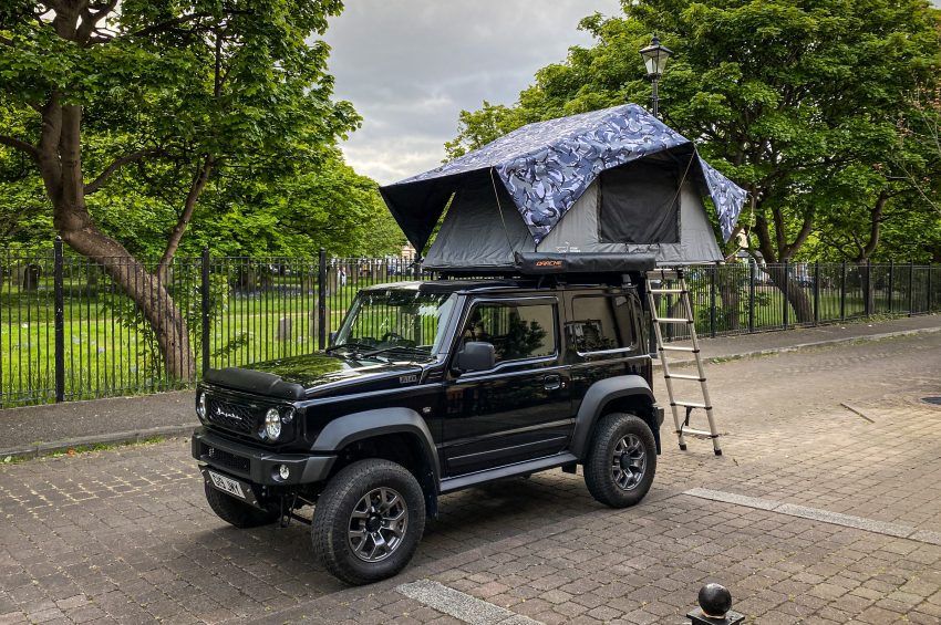 Custom Front Runner Roof Tent Rainfly