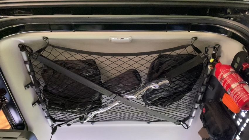 Jimny Roof Storage Netting