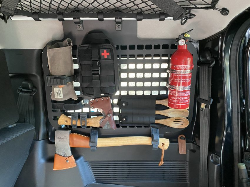 Jimny Window Molle Panel